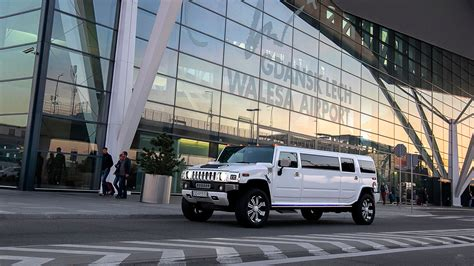 Limousine Transport by Limousin Gdansk Hummer H2 Flyplasstransport Vip Maxi Taxi