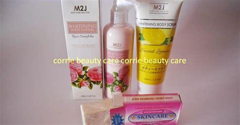 M2j Lotion lula skin care paket pemutih tubuh m2j sabun mutiara