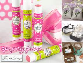 Spa Favor Ideas by Bring The Relaxation To Your With Spa Favors