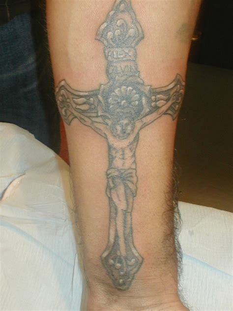 crucifix wrist tattoo cross tattoos designs ideas and meaning tattoos for you