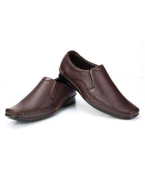 buy 69 brown leather formal shoes for for