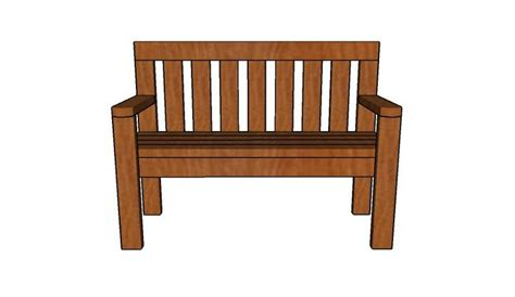 bench with backrest plans outdoor bench with backrest build it pinterest