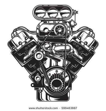 car with v8 engine car free engine image for user manual download carburetor stock images royalty free images vectors shutterstock