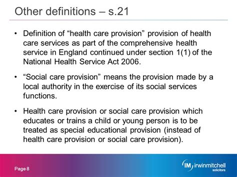 section 21 children s act education and social care ppt download