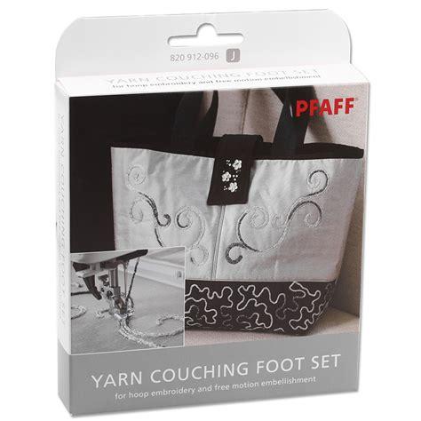 Creative Couching Foot by Pfaff Reliefstickfu 223 Set Yarn Couching Foot Set