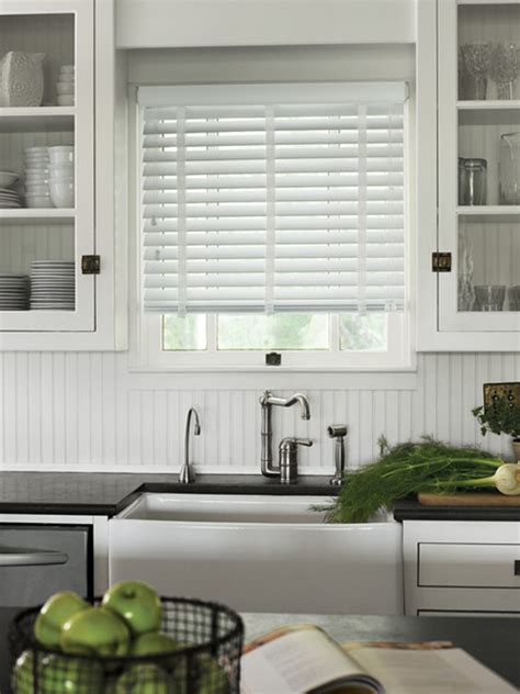 kitchen blinds ideas uk advantages of faux wood blinds in the kitchen and bathroom