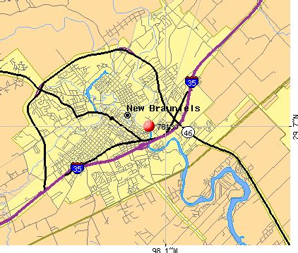 where is new braunfels map 78130 zip code new braunfels profile homes
