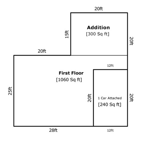 how to calculate dimensions from square feet square footage of a house part 2 of 3 appraisal iq