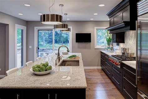 Kitchen Countertops And Cabinets Zen Like Naperville Kitchen By Drury Design Light