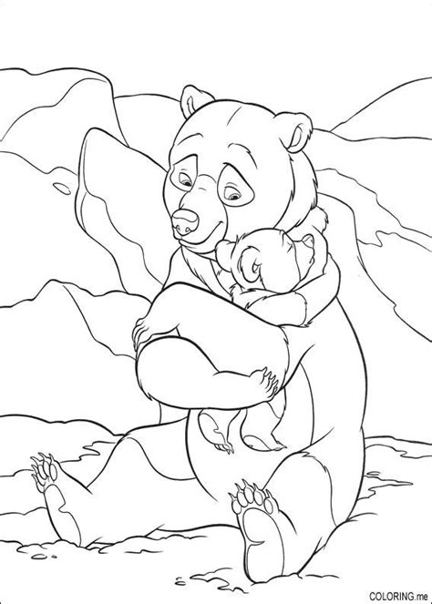 bear hug coloring pages coloring page brother bear hug coloring me