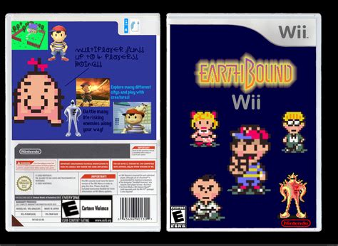 Home Design Game Hack Earthbound Wii Wii Box Art Cover By Doombringer533