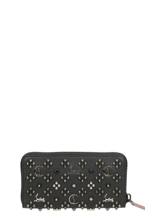 Christian Louboutin Panettone Wallet Review by Christian Louboutin Panettone Wallet Black 10520653 Italist
