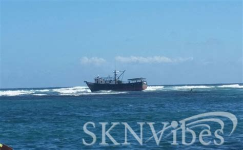 sknvibes boat schedule sknvibes boat runs aground at dieppe bay occupants