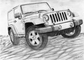 Drawing Jeep How To Draw Jeep Wrangler