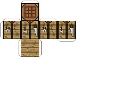 free minecraft papercraft crafting table other