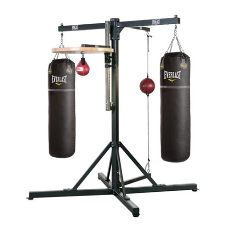 pro heavy bag speed bag boxing stand everlast