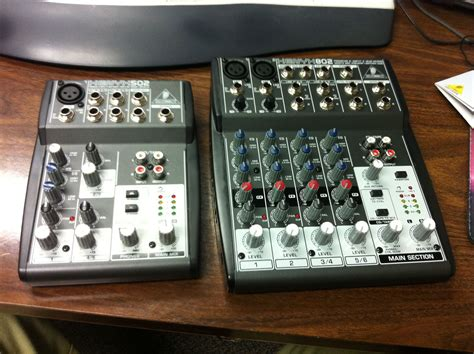 Mixer Behringer Xenyx 502 behringer xenyx 502 and 802 flickr photo