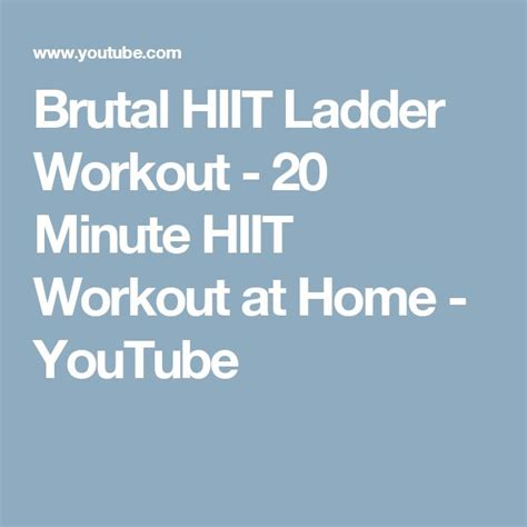 17 best ideas about hiit workout at home on at