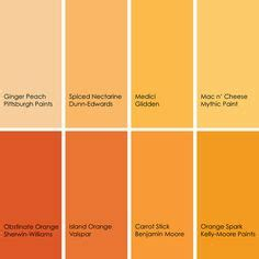 Orange Spice Color by 1000 Images About Color Inspiration On Pinterest