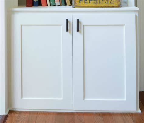 How To Build Storage Cabinets With Doors How To Build A Cabinet Door Decor And The
