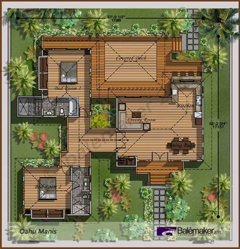 balinese house plans 25 best ideas about bali house on pinterest triangle house tropical house design