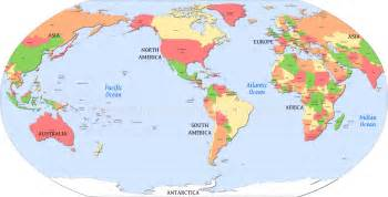 us world map america centric world map