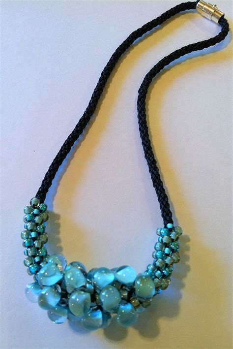 beaded kumihimo necklace patterns 54 best images about kumihimo beaded necklace on