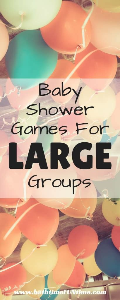 Baby Shower For Big Groups by Baby Shower For Large Groups Bath Time Time