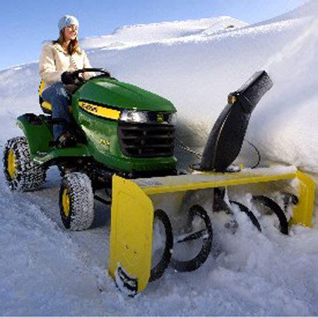 john deere 44 inch snow blower sku23045