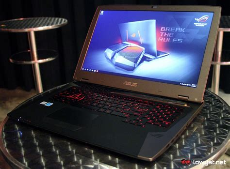 Asus Gaming Laptop Price In Malaysia asus officially launches the liquid cooled rog gx700 gaming laptop in malaysia lowyat net