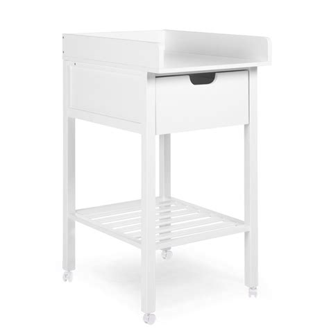 Changing Table Drawer by Changing Table Drawer White Wheels Childhome