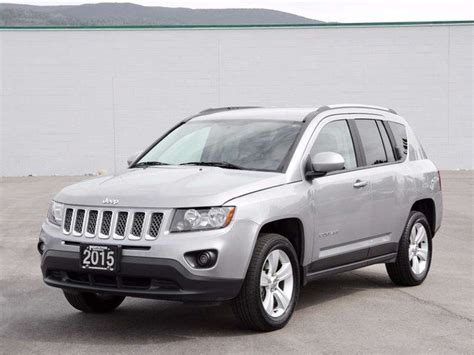 2015 Jeep Compass by 2015 Jeep Compass Sport Grey Auto Loan Kelowna