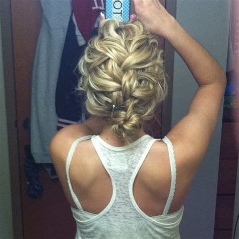 messy french twist love this for wedding hair cute simple messy french braid bun cute wedding day pins you re