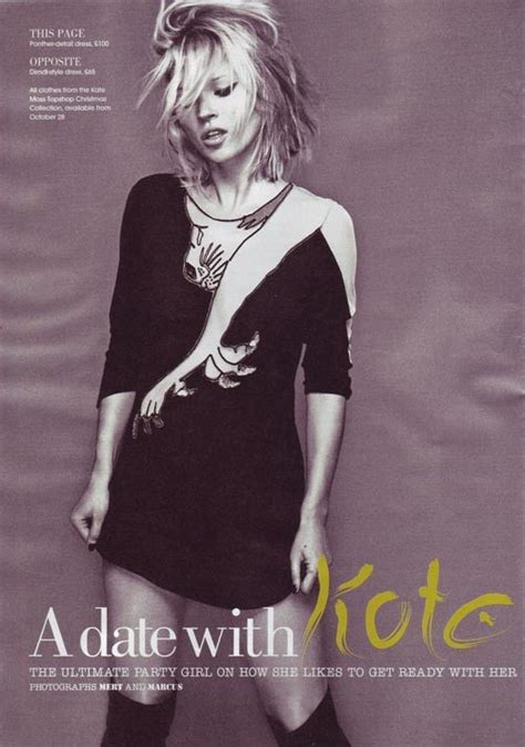Win Kate Moss For Topshops Limited Edition Dress At Catwalk by Kate Moss Topshop 2008 Collection Nitrolicious