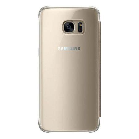 Original Samsung Clear Galaxy S7 Edge Gold Original 1 original samsung galaxy s7 edge clear view cover tasche in