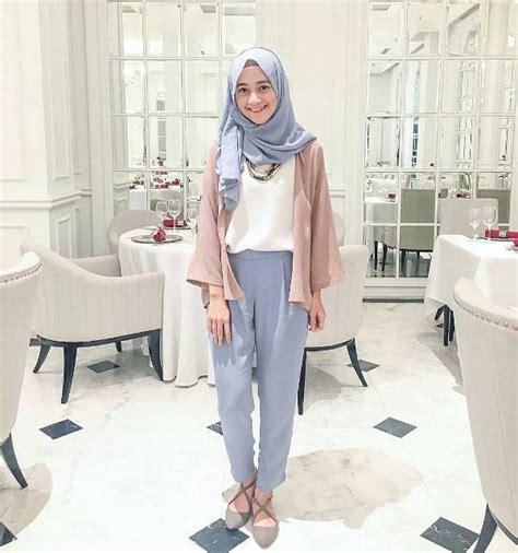 Gamis Remaja Wanita 2018 81 model baju lebaran 2018 casual modis modern elegan