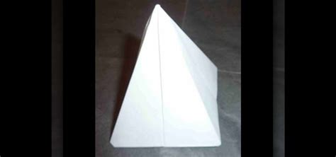Origami Tent - how to craft an easy 3d origami tent pyramid for beginners
