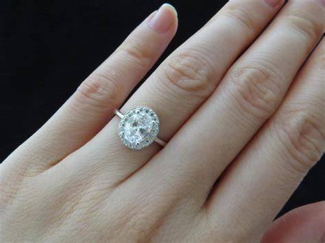 Verlobungsring 1 Karat by Carat Engagement Ring On Hd Carat