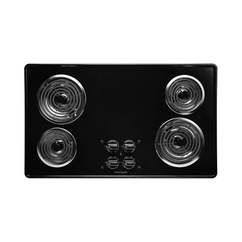 36 inch electric coil cooktop frigidaire ffec3605lb 36 quot electric cooktop with coil