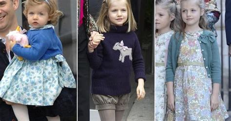 Easter Celebrations Heiress Style Hollyscoop by The King S Granddaughter Infanta Leonor Becomes