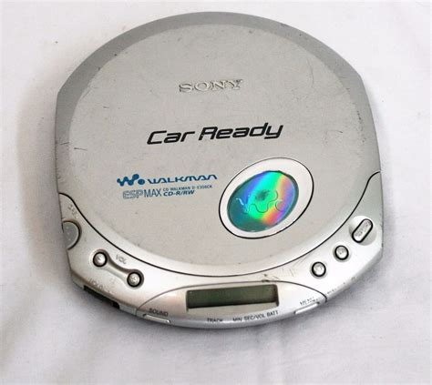 porta cd auto sony walkman d e356ck portable cd player car ready esp max