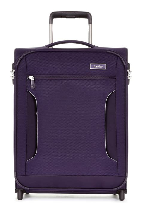 cabin luggage review antler cyberlite ii2 wheel soft cabin suitcase review