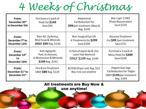 4 weeks of christmas for coworkers 4 weeks of calendar