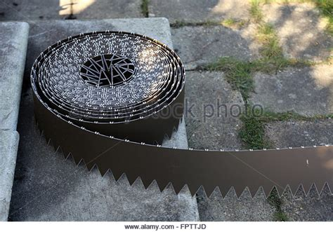Laying Landscape Edging Garden Path Edging Stock Photos Garden Path Edging Stock