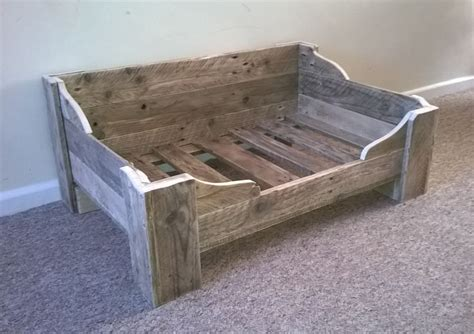 dog bed made from pallets bespoke dog bed made from reclaimed wood www facebook com