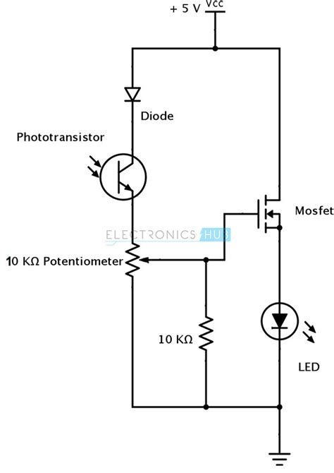 photodiode for laser detection ir infrared obstacle detection sensor circuit
