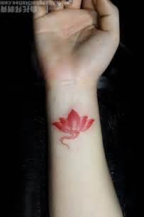 Small Lotus Flower Small Lotus On Wrist Tattoobite