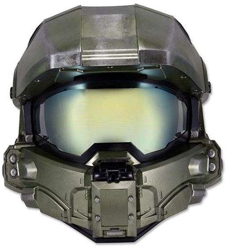 This Halo Master Chief Motorcycle Helmet Is Road Ready
