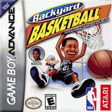 Backyard Football Gba Rom by Backyard Basketball Gba Usa Rom Gt Gameboy Advance Gba