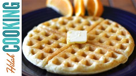 how to make waffles hilah cooking youtube